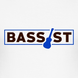 Bassist - Music Passion - slim fit T-shirt