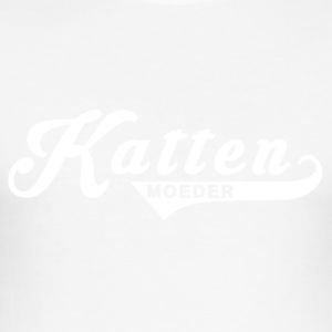 Kattenmoeder - slim fit T-shirt