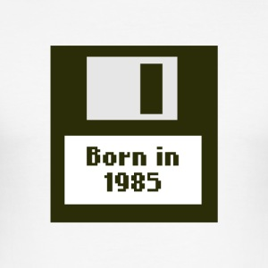 geboren in 1985 - slim fit T-shirt
