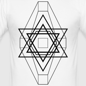 Geo Star - slim fit T-shirt