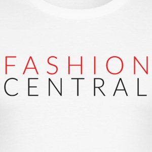 Fashion Central - Herre Slim Fit T-Shirt