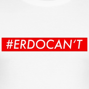 #erdocant red - Männer Slim Fit T-Shirt