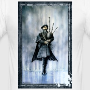 bagpiper - Herre Slim Fit T-Shirt