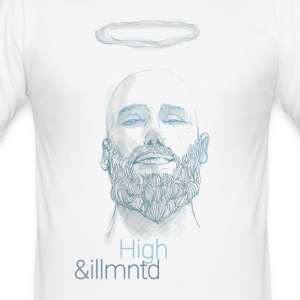 "Herboriste - ""High & Illuminated"" - Tee shirt près du corps Homme"