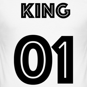 King Limited HD SMK - Männer Slim Fit T-Shirt