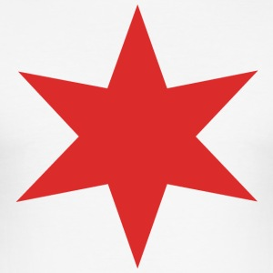 Red Star Chicago - slim fit T-shirt