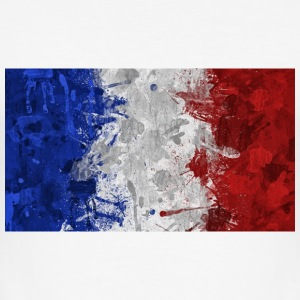 French flags. - Men's Slim Fit T-Shirt
