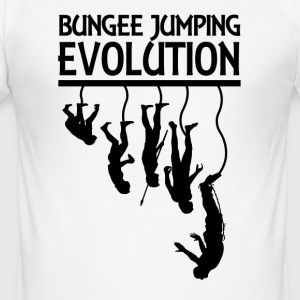 Bungee Jumping Evolution - Slim Fit T-shirt herr