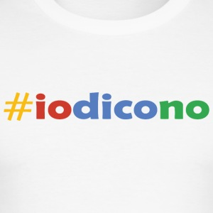 #iodicono - Männer Slim Fit T-Shirt