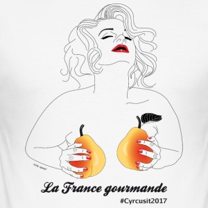 French Gourmet - Men's Slim Fit T-Shirt