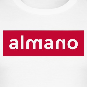almanoRED - Men's Slim Fit T-Shirt