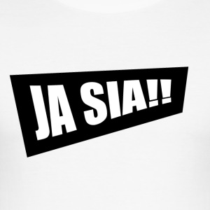 JA SIA - Slim Fit T-shirt herr