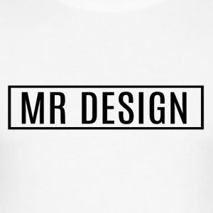 MR DESIGN - Slim Fit T-skjorte for menn
