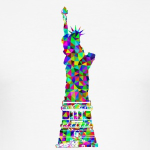 statue of Liberty - Men's Slim Fit T-Shirt