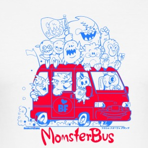 Monsterbus Libero - Männer Slim Fit T-Shirt
