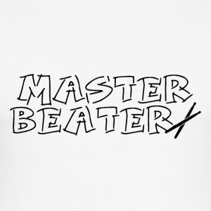 Master Beater - Drummer Passion - slim fit T-shirt