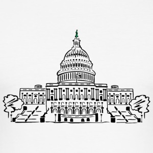 Capitol Washington - slim fit T-shirt