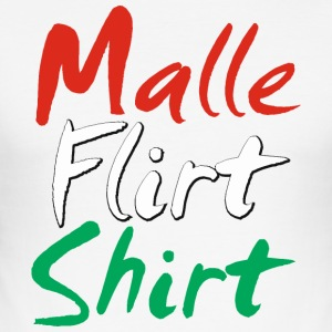 Malle Flirt Shirt - Men's Slim Fit T-Shirt