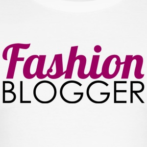 Fashion Blogger - Slim Fit T-skjorte for menn