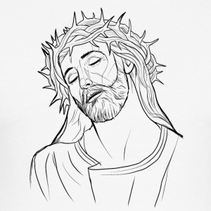 Jesus - Slim Fit T-shirt herr