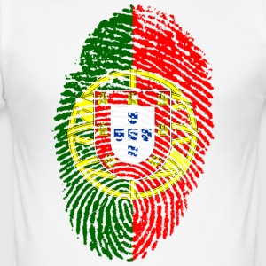 PORTUGAL FINGERPRINT T-SHIRT - Men's Slim Fit T-Shirt