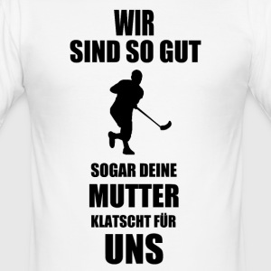 Unihockey - Männer Slim Fit T-Shirt
