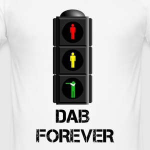 TRAFFIC LIGHT FOREVER DAB / DAB TRAFFIC LIGHT - Men's Slim Fit T-Shirt