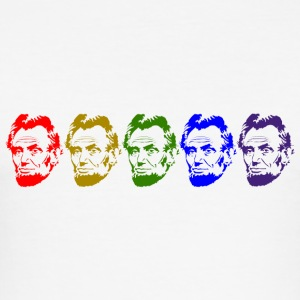 Abraham Lincoln - Männer Slim Fit T-Shirt