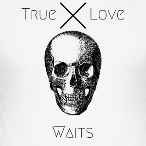 True Love Waits - Men's Slim Fit T-Shirt