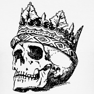 Skull with crown - Men's Slim Fit T-Shirt