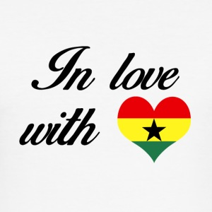 In love with Ghana - Men's Slim Fit T-Shirt