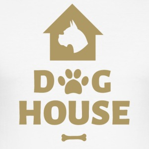 Dog House - Men's Slim Fit T-Shirt