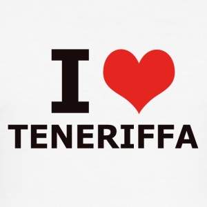I LOVE TENERIFFA - Männer Slim Fit T-Shirt