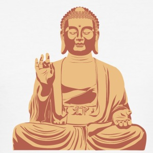 Buddha - Slim Fit T-shirt herr