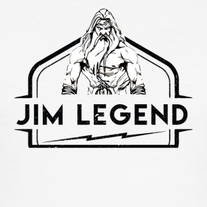 Jim Legend - Männer Slim Fit T-Shirt
