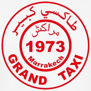 Grand Taxi Marrakech - Männer Slim Fit T-Shirt