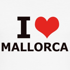I LOVE MALLORCA - Slim Fit T-skjorte for menn