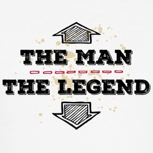 The Man the Legend legendary Sexprot Macho Titan - Men's Slim Fit T-Shirt