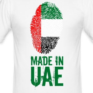 Made In UAE / United Arab Emirates - Men's Slim Fit T-Shirt