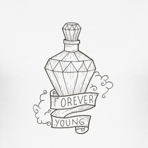 forever young - slim fit T-shirt