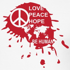 Love Be Human - slim fit T-shirt