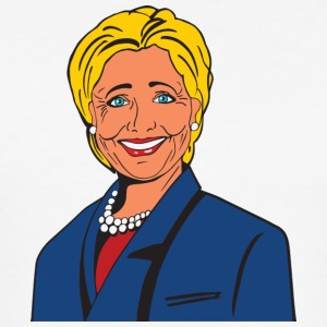 Hillary Clinton - Slim Fit T-skjorte for menn