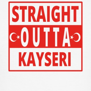 straight outta Kayseri Turkije - slim fit T-shirt