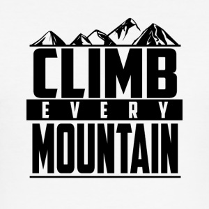 Climb every mountain - Men's Slim Fit T-Shirt