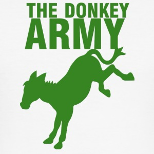 Donkey / gård: The Donkey Army - Slim Fit T-shirt herr