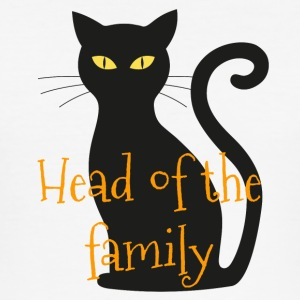 Head of the family cat - Men's Slim Fit T-Shirt