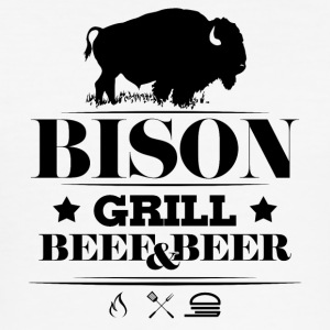 Grill · Grill · Bison - Slim Fit T-skjorte for menn