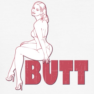 butt - Men's Slim Fit T-Shirt
