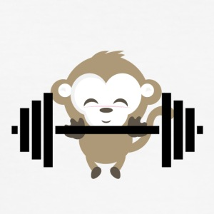 Fitness Monkey - Men's Slim Fit T-Shirt