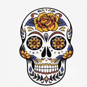 Day of the Dead - Slim Fit T-skjorte for menn